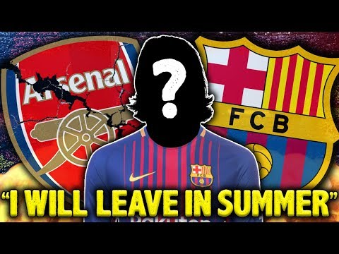 "Video: LEAKED: Arsenal Player CONFIRMS Exit! ""I Will Sign For Barcelona In The Summer"" 