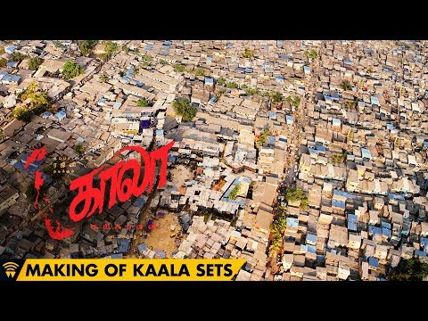 Making of Kaala Sets - A Real Dharavi | Rajinikanth | Pa Ranjith | Santhosh Narayanan | Dhanush