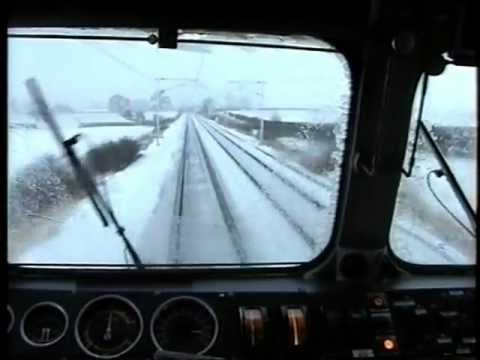 87014 Carlisle - Penrith Winter Cab Ride Driver`s Eye View