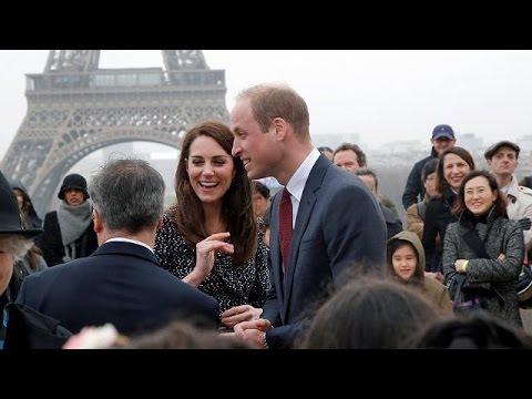 Ουίλιαμ και Κέιτ επισκέπτονται το Παρίσι