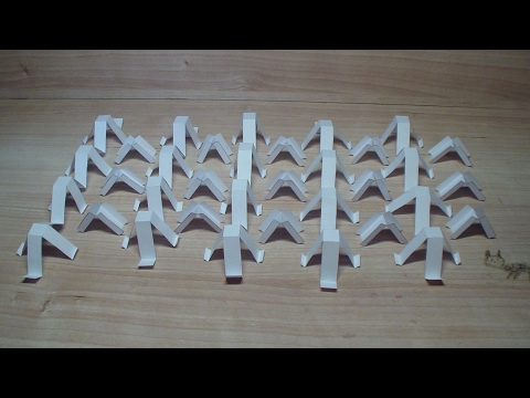 Лего из бумаги своими руками. Штифты и перегородки A44