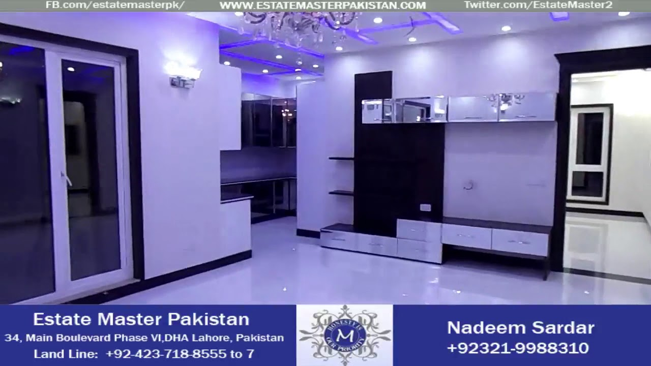 1-kanal Brand New Classical House For Sale In Phase 6 Block M