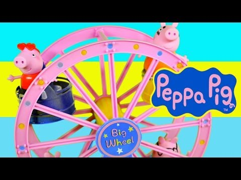 Peppa Pig Amusement Park Big Ferris Wheel Nick Junior Theme Park Toys by Disney Cars Toy Club