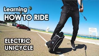 Video Learning How To Ride: Electric Unicycle MP3, 3GP, MP4, WEBM, AVI, FLV Oktober 2018