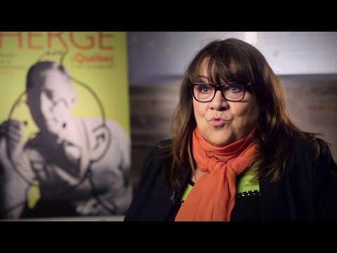 Hergé vu par Thérèse Parision