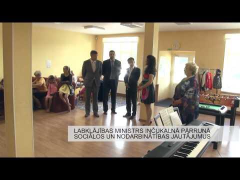 Labklājības ministrs inčukalnā pārrunā sociālos un nodarbinātības jautājumus
