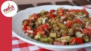 közlenmiş patlıcan salatası tarifi  nefis yemek tarifleri