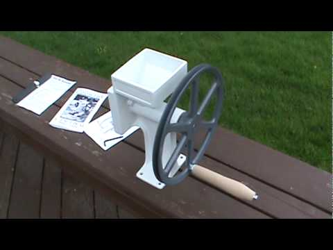 The worlds finest hand grain mill Country Living Grain Mills