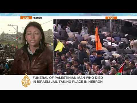Al Jazeera reports from West Bank funeral