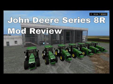 John Deere 8R BR FS17 v1.0