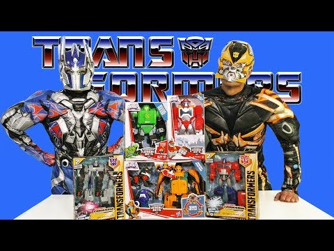 Transformers Toy Challenge - Optimus Prime Vs. Bumble Bee  ! || Toy Review || Konas2002