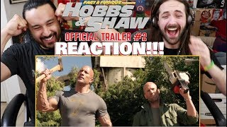 HOBBS & SHAW - Official Trailer #2 | REACTION!!! by The Reel Rejects