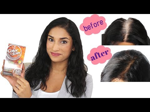 All Natural/Ammonia-Free Hair Color Review!