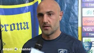 Preview video Le parole di Massimo Maccarone al termine di Chievo-Empoli