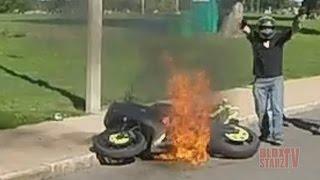 Video Stunt Bike Riding WHEELIES Catches On FIRE Motorcycle Stunts ROC 2016 Ride Of The Century FAIL VIDEO MP3, 3GP, MP4, WEBM, AVI, FLV Oktober 2017