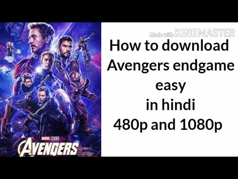 How to download Avengers endgame in hindi