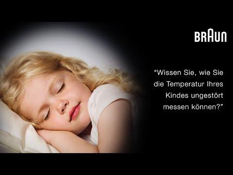 Braun Berührungsfreies + Stirnthermometer  (NTF3000) - 40s