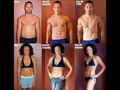 P90X TRANSFORMATION BEFORE and AFTER – Jason Roberts SUCCESS STORY