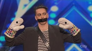 Download Video America's Got Talent 2016 Tape Face Incredibly Inventive Comedy Act Full Audition Clip S11E01 MP3 3GP MP4