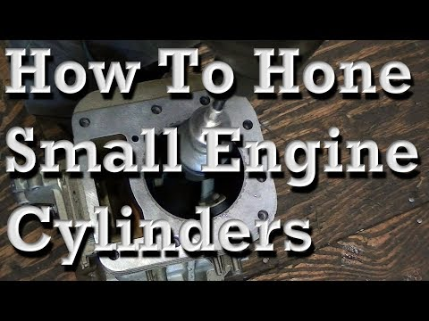 How To Hone Small Engine Cylinders (14.5HP OHV B&S As Example)