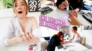 we turned our house into a nail salon!! * was this a mistake?! by Alisha Marie Vlogs