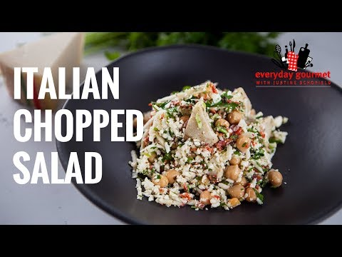 Italian Chopped Salad | Everyday Gourmet S7 E17