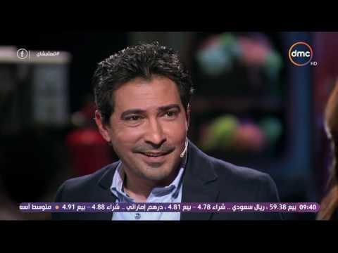 محمد بركات يعرض قدراته في تقليد اللاعبين..وغادة عادل تدعوه للتمثيل
