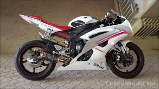 10. Yamaha YZF R6 Two Brothers exhaust with mid link pipe