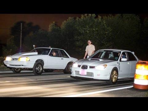 600 – 1100 HP Cars STREET RACING | Mini Cash Days 2013
