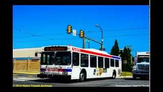 Audio clip of Southeastern Pennsylvania Transportation Authority 2005 New Flyer D40LF #8030 operating on Route 12 from West Philadelphia to Center City Philadelphia. *Note: All images used are of D40LFs currently operating in the SEPTA system and not solely of the 8000 series. Powertrain: Cummins ISL 2007Transmission: ZF 6 Speed