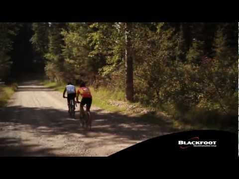 Blackfoot Telecommunications Group Ovando Gran Fondo 2012 Video