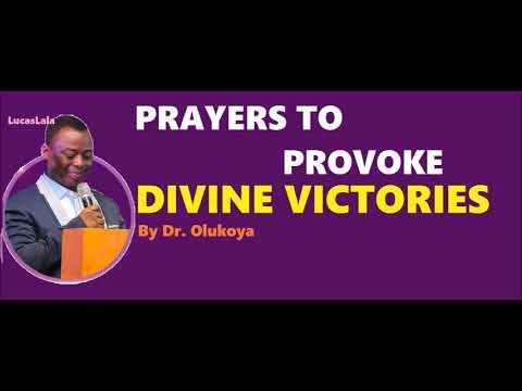 PRAYERS TO PROVOKE SUDDEN VICTORIES