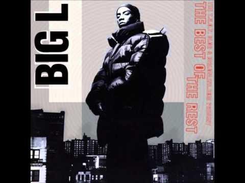 Big L 98 Freestyle with Lyrics (видео)