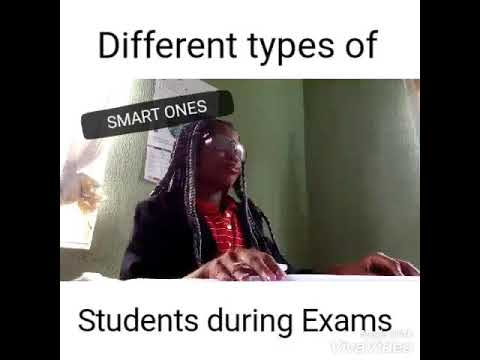 Different types of students during Exams.(Maraji)