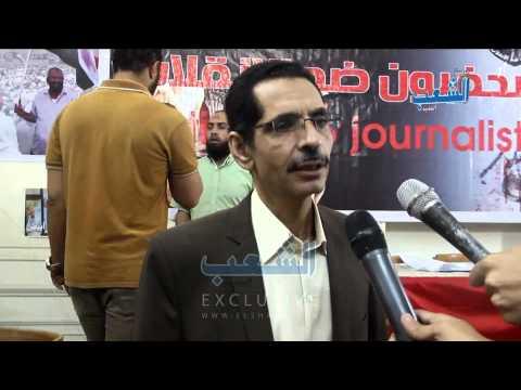 """أحمد عبد العزيز: """"السيسي يعصف بحقوق الصحفيين"""""""