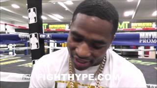 ADRIEN BRONER BREAKS DOWN MAYWEATHER VS. PACQUIAO; BETTING $10,000 ON STOPPAGE