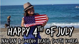 Sokcho-si South Korea  city photo : July 4, 2015: Naksan & Sokcho Beach, South Korea