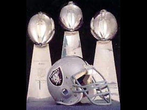 , title : 'Oakland Raiders Super Bowl wins'