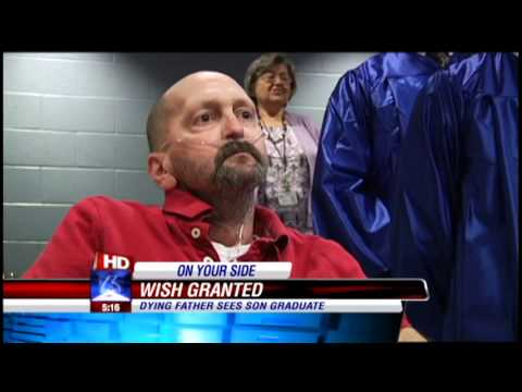 Father's dying wish to see son graduate