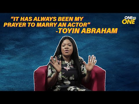 """It has always been my prayer to marry an actor''- Toyin Abraham  