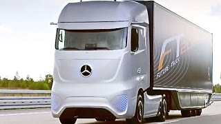 Mercedes Self Driving Truck Driving Itself Mercedes Future Truck 2025 Commercial CARJAM TV 4K 2015