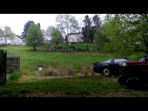Garden Tractor FAIL!!!