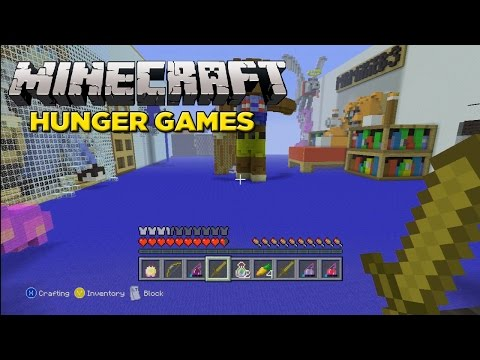how to get hunger games on minecraft xbox 360