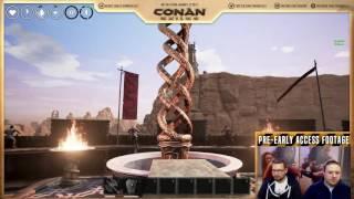 Запись пятничной трансляции Conan Exiles