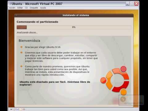 Instalar Ubuntu – Configurar el asistente de instalación e instalar