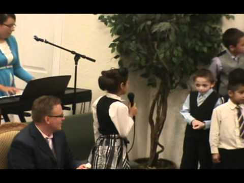 apostolic tabernacle kids choir singing old hymns