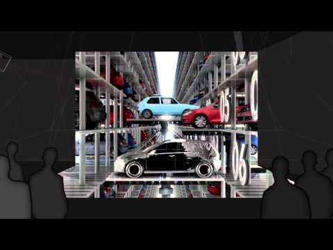 disguise Real-time Simulation & Playback - Volkswagen Golf Reveal, New York, 2013