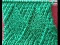 Kaju Katli Type Diamond shaped Knitting Design in Hindi (बर्फी डिजाईन बुनाई में)