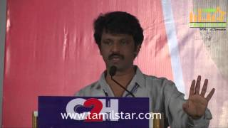 Director Cheran's C2H Press Meet Clip 2