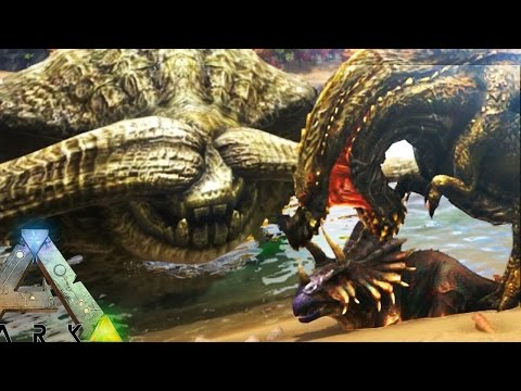 Ark Survival Evolved - MOST EPIC MONSTERS BATTLE FOR DOMINANCE!! - Ark Modded Gameplay